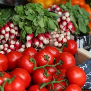 tomate radis marché